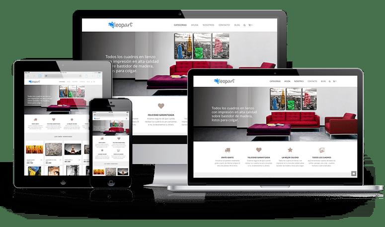 empresa diseño web valencia páginas tienda online