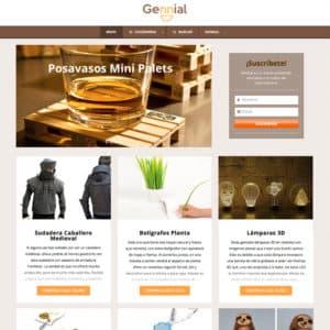 diseño páginas web tienda online regalos valencia