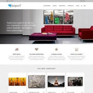 diseño tienda online decoración valencia