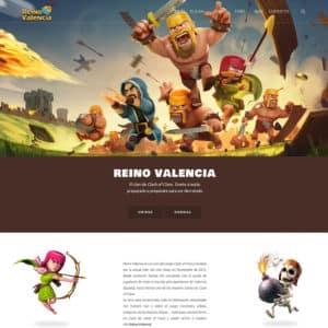 diseño página web reino valencia