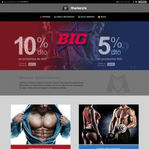 diseño página web alimentación valencia