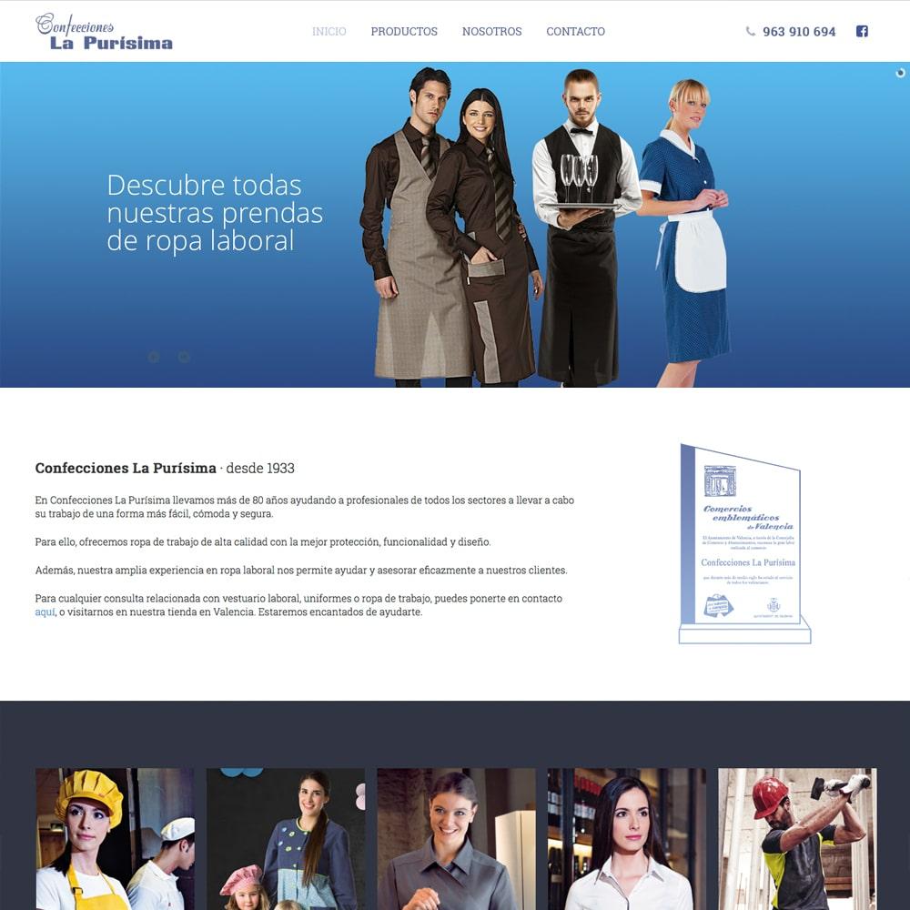diseño tienda online ropa valencia