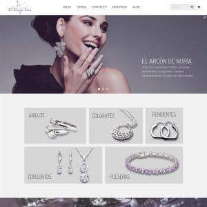diseño tienda online joyas valencia